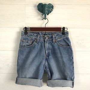 Levi Strauss Red Tab Vintage Custom Denim Shorts
